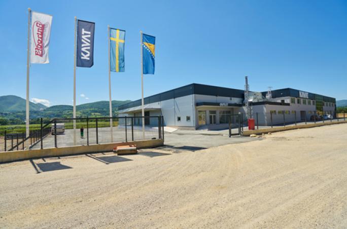 Kavat investiert in neue Produktionsstätte
