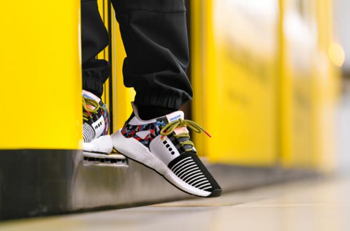 Adidas Originals designt Sneaker mit BVG-Sitzmuster