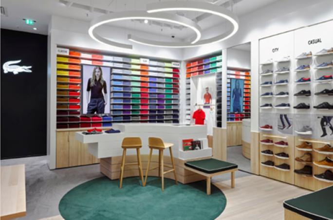 Lacoste mit neuem Retail-Konzept in Deutschland