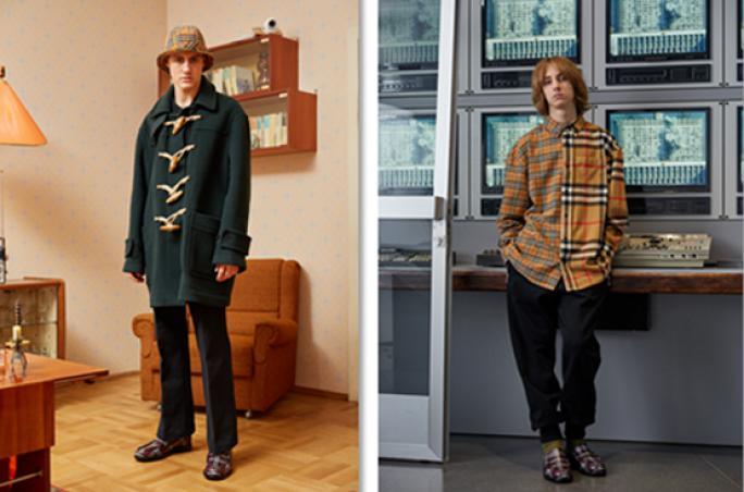 Gosha Rubchinskiy designt zweite Kollektion mit Burberry