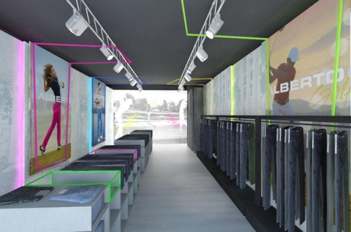 Alberto eröffnet Projekt-Store mit Sportspants