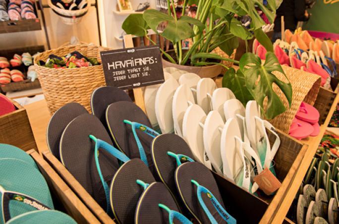 Havaianas eröffnet ersten Store in Deutschland