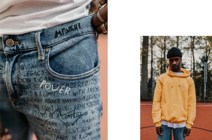 Alberto präsentiert Jeans-Kooperation