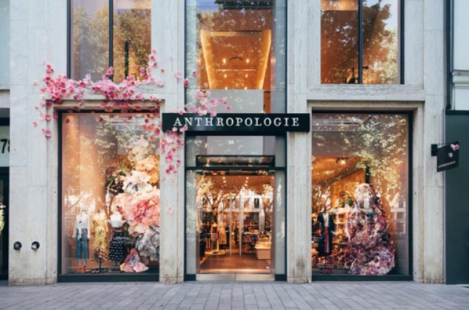 Anthropologie: Erster Store in Deutschland