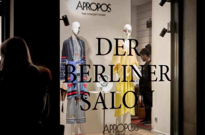 Apropos x Der Berliner Salon - Pop-up in München & Köln