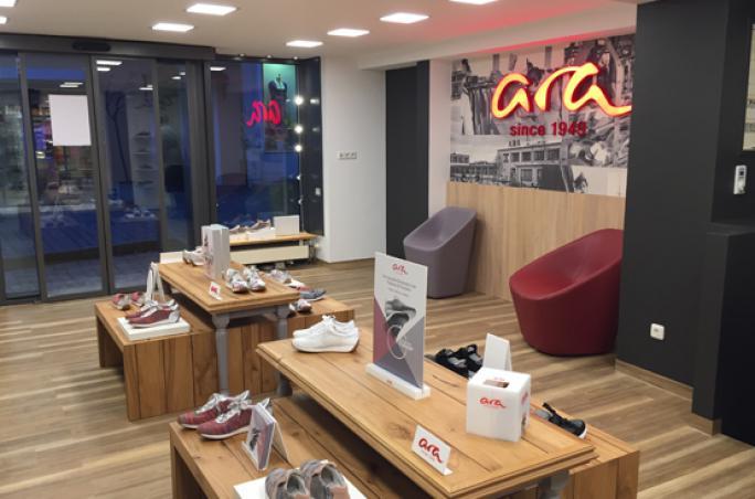 Ara eröffnet ersten Pop-up Store