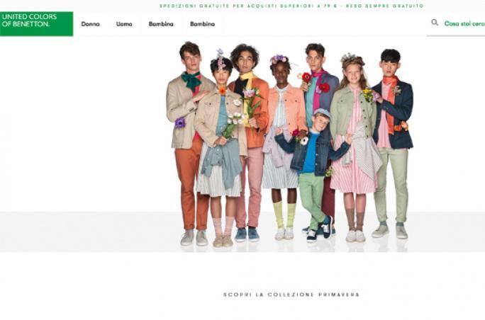 United Colors of Benetton geht mit neuem Onlineshop an den Start