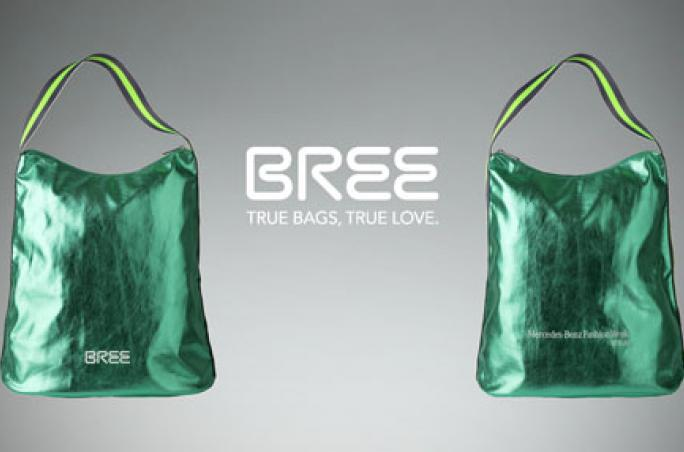 Bree, Mercedes-Benz Fashion Week Berlin , Gift-Bag