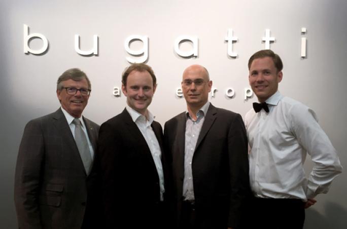 Bugatti: Neue Lizenzvergabe für Frottierwaren