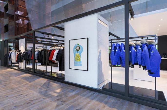 Canada Goose: Store Opening in Peking