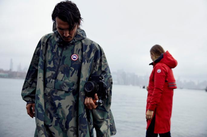 Canada Goose präsentiert Rainwear Kampagne