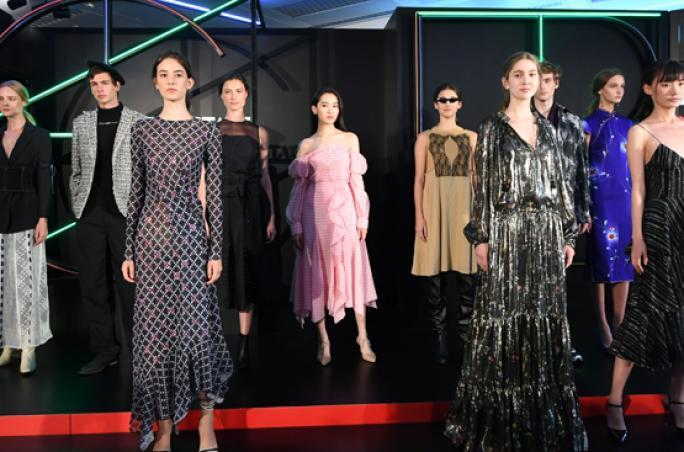 Centrestage: Globale Modemarken und asiatische Designtalente