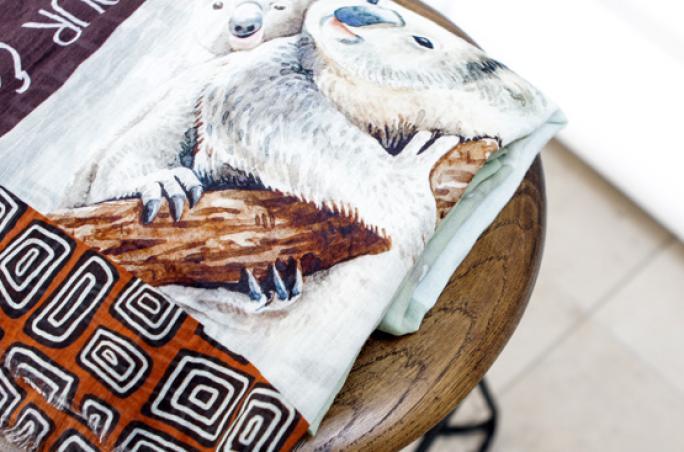 Codello designt Koala-Schal
