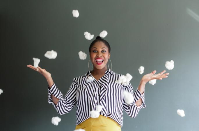 Cotton made in Africa: Motsi Mabuse wird Markenbotschafterin