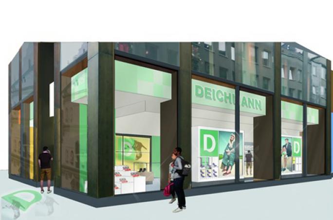 Deichmann: Neuer Flagship Store in München