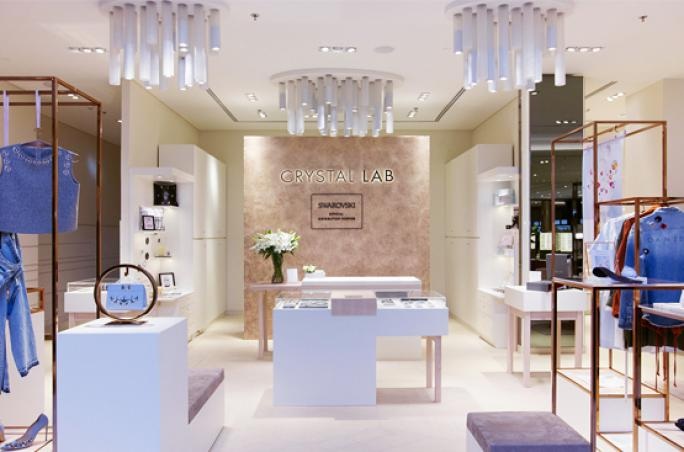 Dfrost & Swarovski: Crystal Lab in Dubai