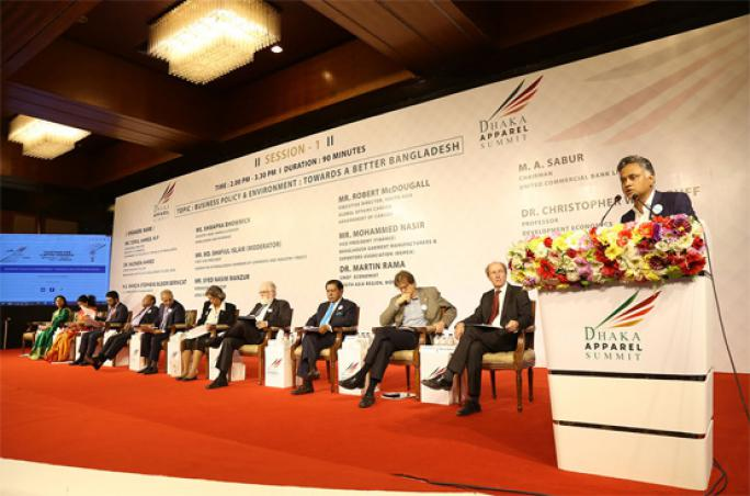 Dhaka apparel summit
