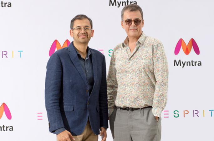 Esprit schließt Partnerschaft mit Online-Plattform Myntra