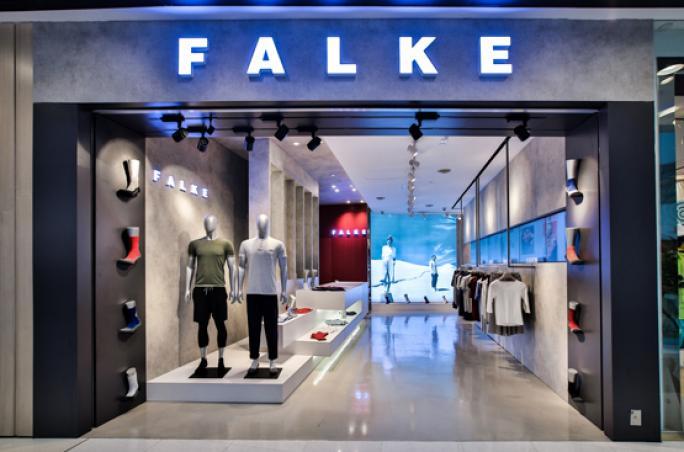 Falke: Erster Sport Store in Hong Kong