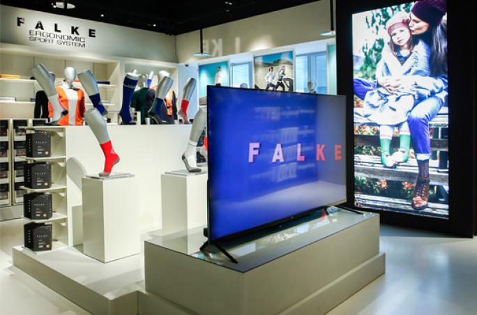 Falke: Erster Flaghip-Store in Beijing