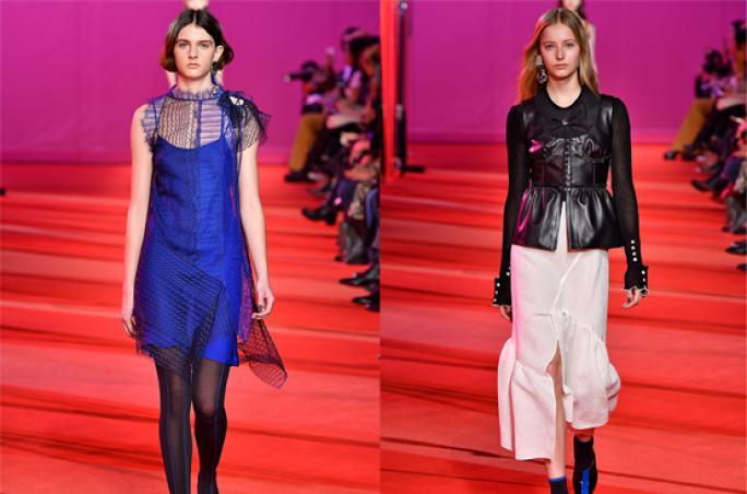 Phillip Lim, New York Fashion Week ,  Herbst-/Winterkollektion 2017, Falke, Kristina Falke