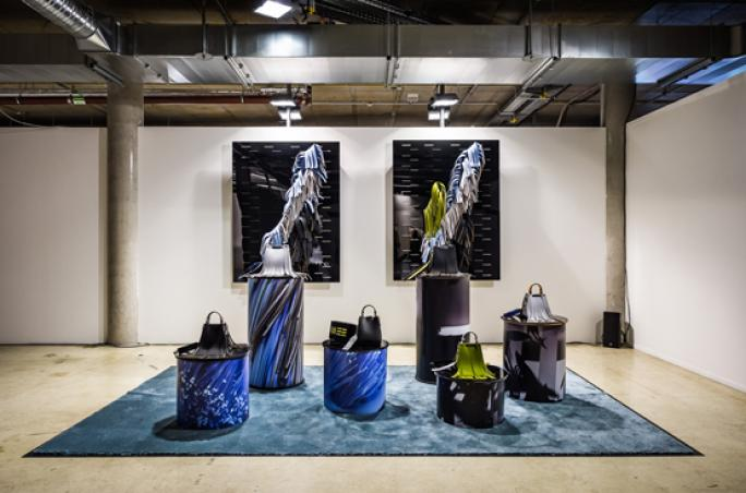 Fashion Council Germany mit Installation belgischer und deutscher Designer