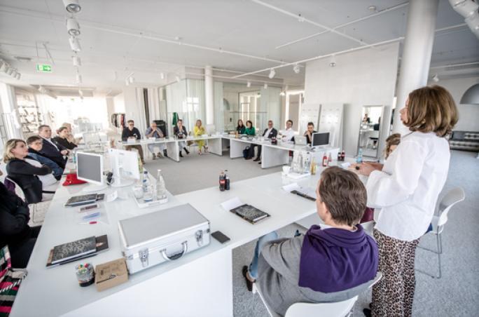 Fashion Net: Round Table in Düsseldorf