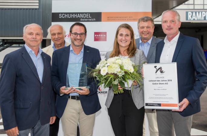 Gabor: Schuhlieferant des Jahres 2018