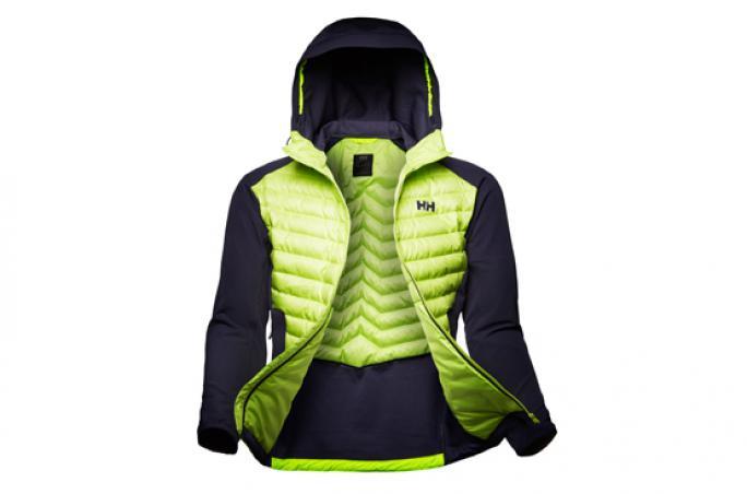 Helly Hansen und die neue Hybridjacke Verglas Light Jacket