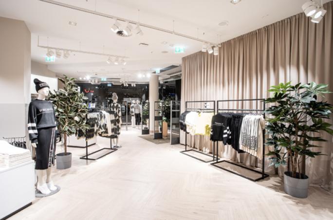 H&M: Wiedereröffnung mit neuem Designkonzept