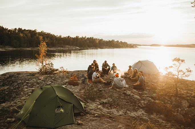 Jack Wolfskin: Outdoor-Camp in Schweden