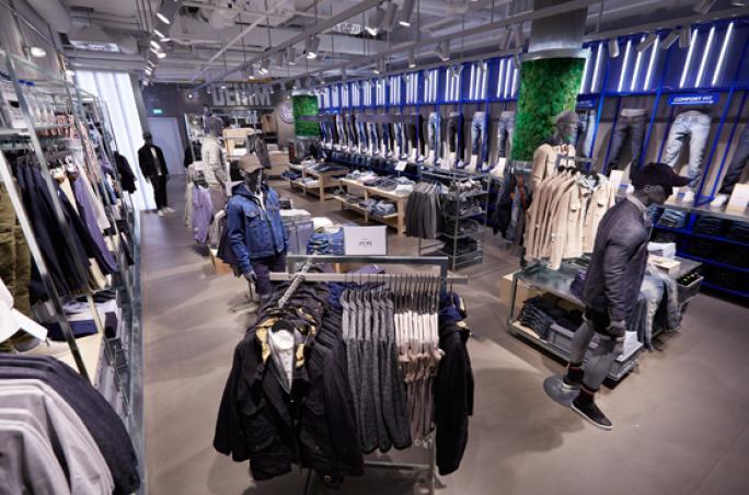official photos f2cb4 d5912 Jack & Jones: Erstes Jeans Studio in Hamburg ...