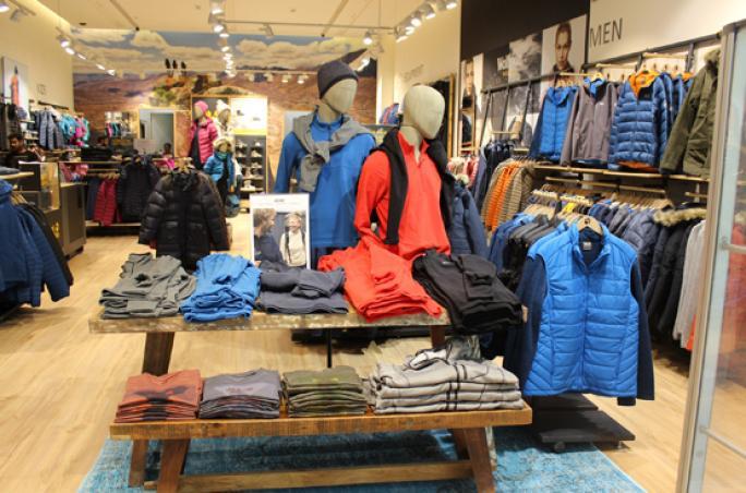Jack Wolfskin: Franchise-Store in Dubai