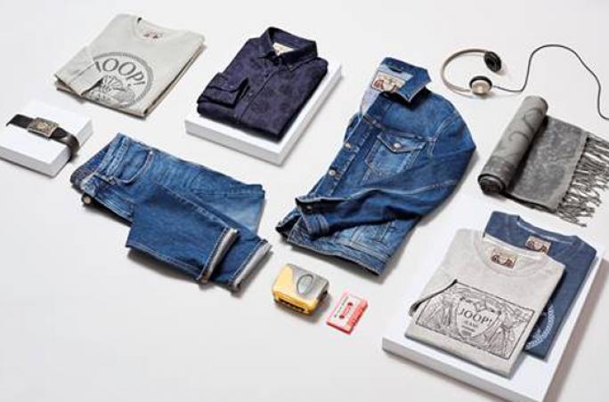 Joop designt Jeans-Kapsel