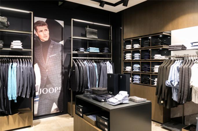 Joop: Shop-in-Shop Eröffnung in Graz