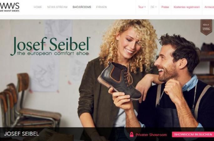 Josef Seibel präsentiert Digitalen Showroom