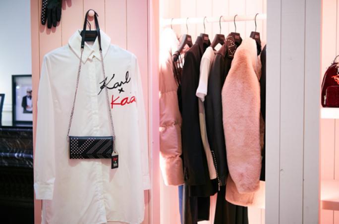 Karl Lagerfeld x Kaia Event in Paris