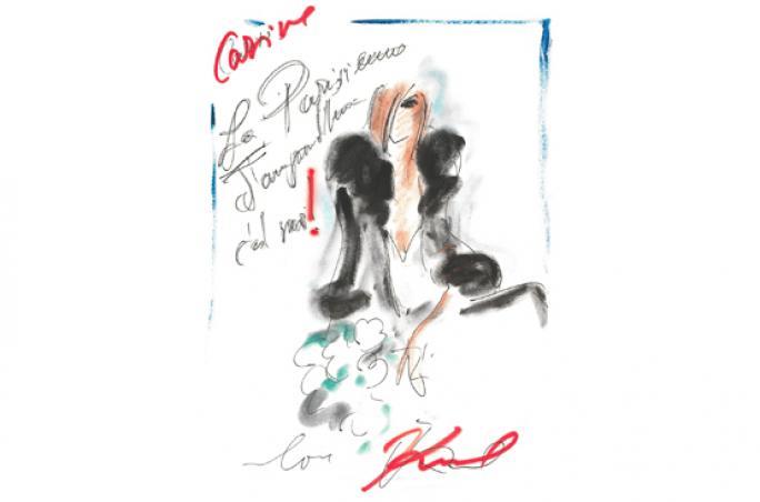 Karl Lagerfeld: Zusammenarbeit mit Carine Roitfeld
