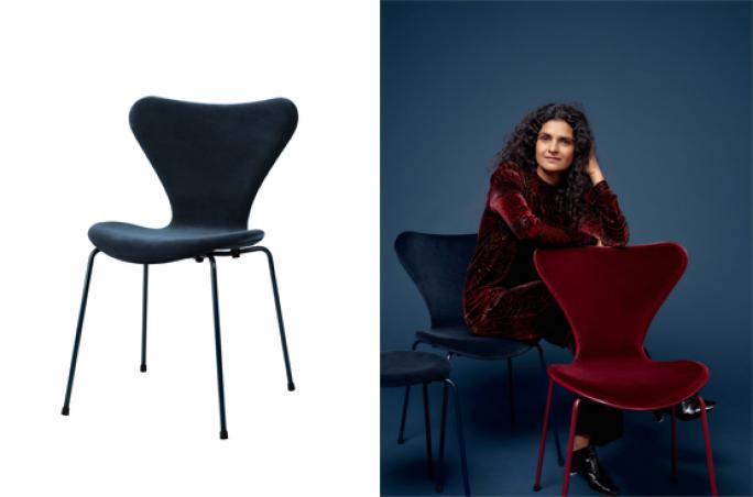 Fashion x Interiour Part II: Lala Berlin x Republic of Fritz Hansen