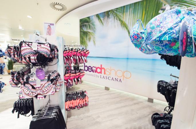 Lascana präsentiert Pop-up Fläche bei Karstadt