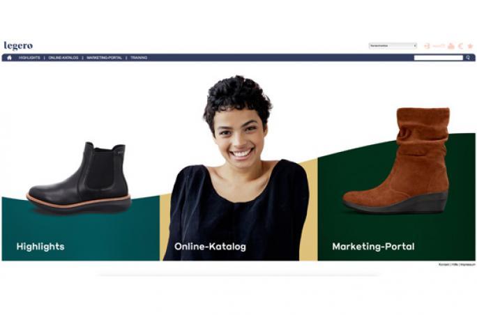 Legero United bietet B2B-Serviceportal