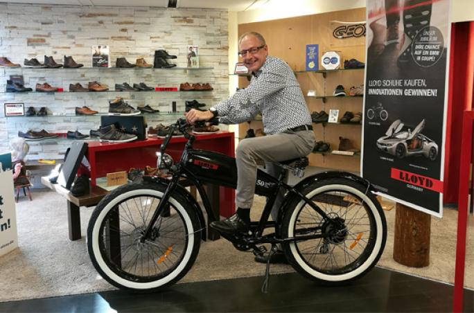 Lloyd: Gewinner des E-Bike steht fest