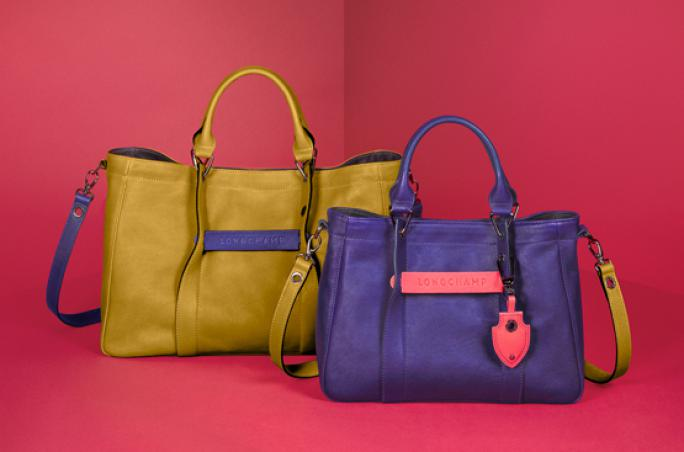Longchamp mit limitierter 3D-Linie
