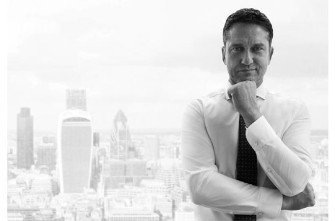 Markenbotschafter Gerard Butler für Olymp Signature