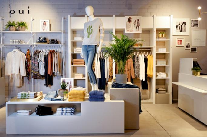Oui: Neuer Store in Düsseldorf