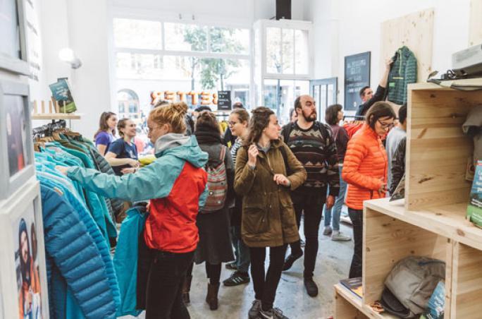 Patagonia: Worn Wear Secondhand-Shop in Berlin