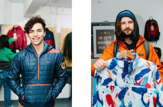 Patagonia: Worn-Wear-Thriftshop Aktion