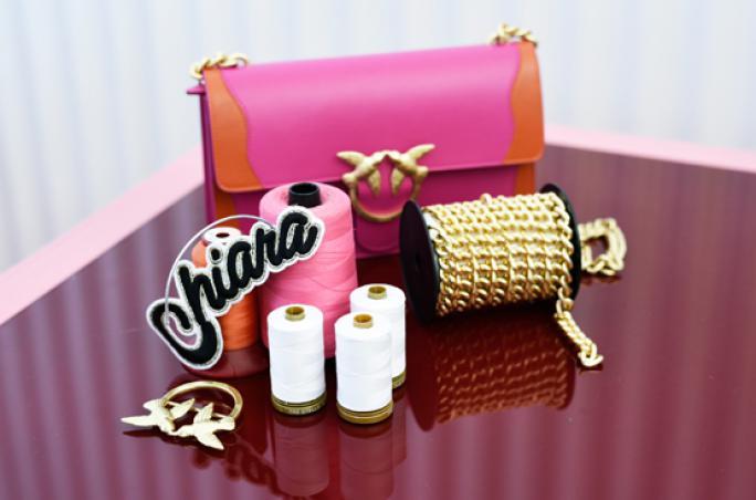 Pinko, Love Bag, Handtasche, personalisiert