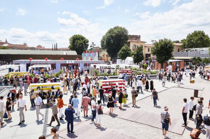 Pitti Uomo präsentiert erste Kollektion von Aldo Maria Camillo