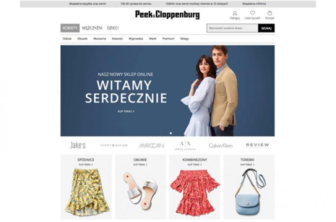 Peek & Cloppenburg geht mit Onlineshop in Polen an den Start
